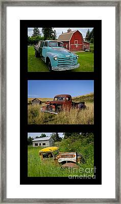 Old Guys 6 Framed Print by Idaho Scenic Images Linda Lantzy
