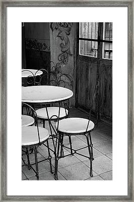 Old Ice Cream Parlor Framed Print by Maryann Flick