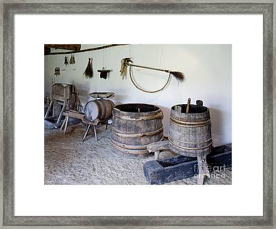 Old Lifestyle Museum Exhibit Framed Print by Jaak Nilson