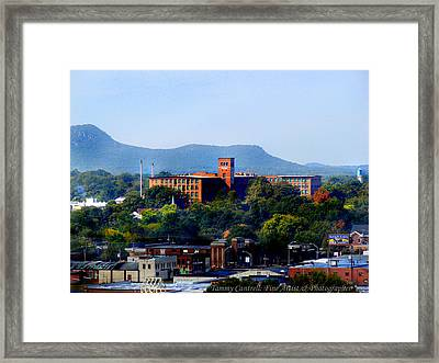 Old Loray Firestone Mill  Framed Print by Tammy Cantrell