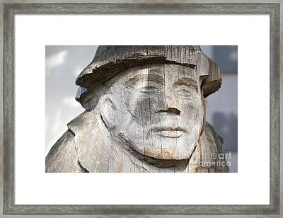 Old Man Of The Sea Framed Print by Chris Dutton
