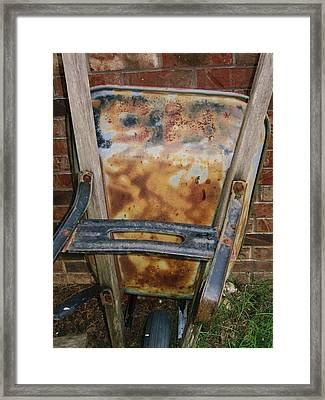 Old Man Framed Print by Todd Sherlock