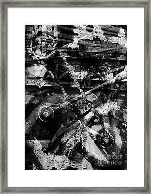Old Mechanism  Framed Print by Igor Kislev