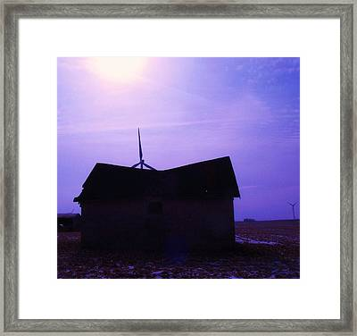 Old Meets New Framed Print by Todd Sherlock