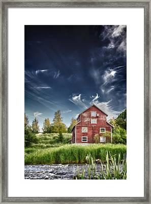 Old Mill Framed Print by Matti Ollikainen