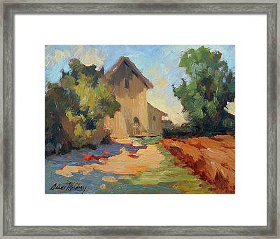 Old Mill Provence Framed Print by Diane McClary
