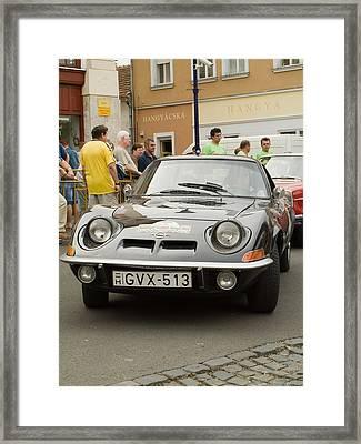 Old Opel Framed Print by Odon Czintos