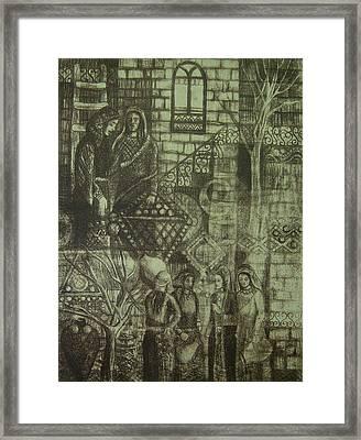 Old Oriental Story Framed Print by Ousama Lazkani