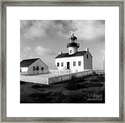 Old Point Loma Lighthouse Framed Print by Dean Robinson