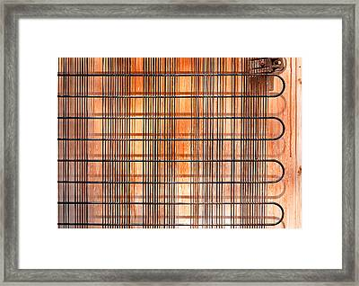 Old  Refridgerator Framed Print by Tom Gowanlock