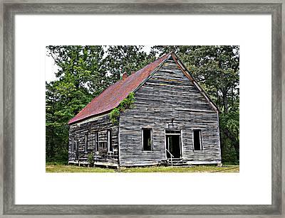 Old School Alabama Framed Print by Amanda Vouglas