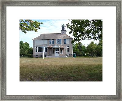 Old School Framed Print by Bonfire Photography
