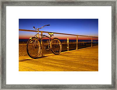 Old School Framed Print by Jeff Bord