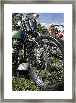 Old School Framed Print by Peter Chilelli