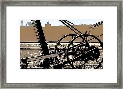Old School Tool  Framed Print by Gilbert Artiaga