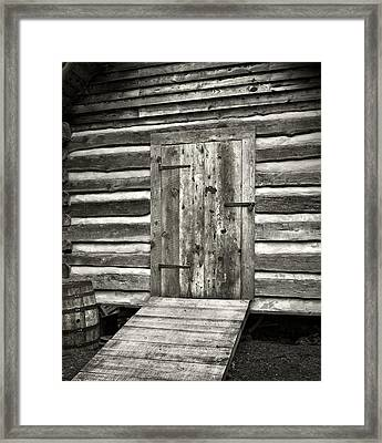 Old Shed Framed Print by Patrick M Lynch