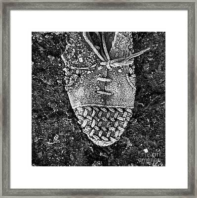 Old Shoe Framed Print by Bernard Jaubert