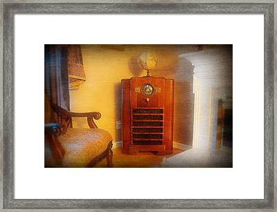 Old Time Radio Framed Print by Paul Ward
