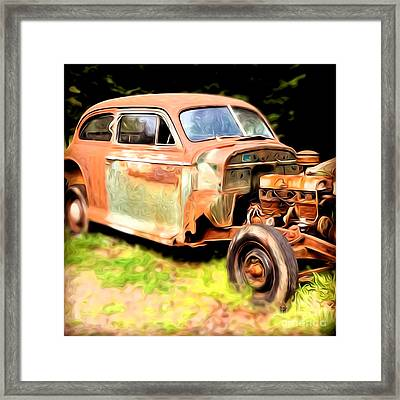 Old Timer Framed Print by Laura Brightwood