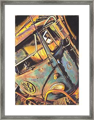 Old Timer Framed Print by Sharon Poulton