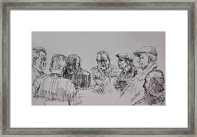 Old-timers  Framed Print by Ylli Haruni