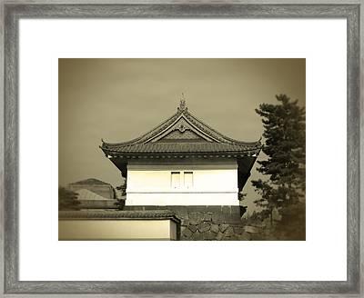 Old Tokyo Framed Print by Naxart Studio