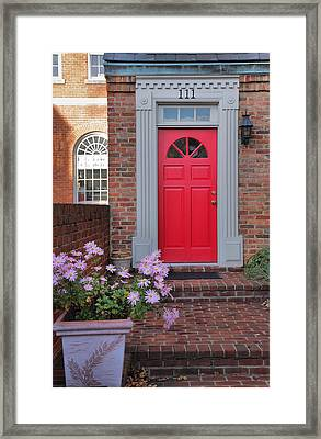 Old Town Entrance Framed Print by Steven Ainsworth