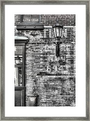 Old Town Framed Print by JC Findley