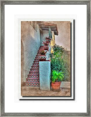 Old Town Stairs Framed Print by Frank Garciarubio