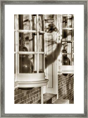Old Town Windows Framed Print by Steven Ainsworth