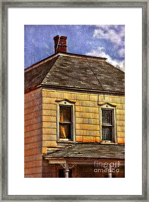 Old Victorian House Framed Print by Jill Battaglia