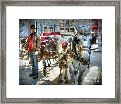 Old Ways Forever Framed Print by Richard Burr