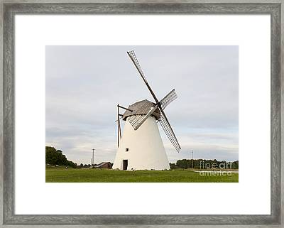 Old Windmill Exterior Framed Print by Jaak Nilson