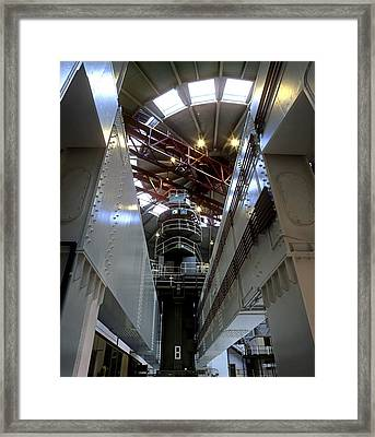 Oldbury Nuclear Power Station Framed Print by Martin Bond