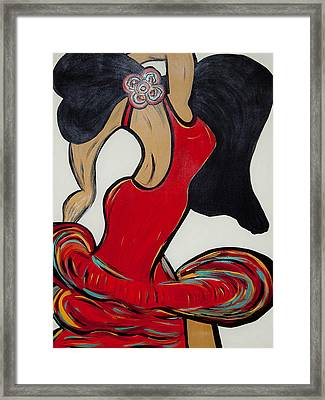 Ole - My Other Passion Framed Print by Artista Elisabet