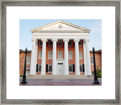 Ole Miss Lyceum One Framed Print by Joshua House