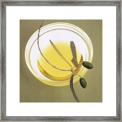 Olive Oil Framed Print by Cristina Pedrazzini