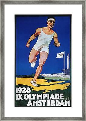 Olympic Games, 1928 Framed Print by Granger