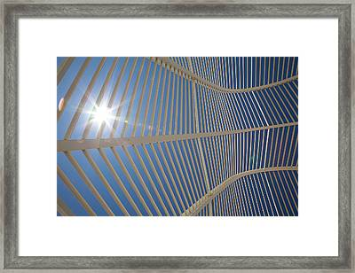 Olympic Glory   View Of The White Arches Framed Print by Photo by Ricardo Carreon