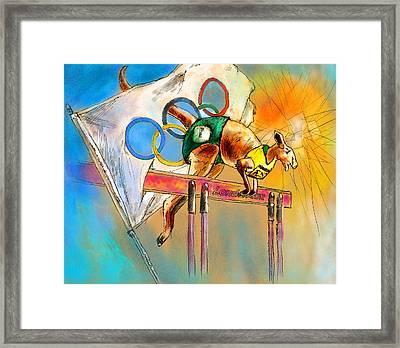 Olyver Framed Print by Miki De Goodaboom
