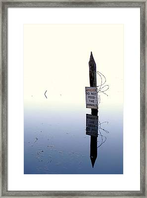Ominous Framed Print by JC Findley