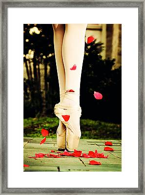 On Point Framed Print by Heather Arsement