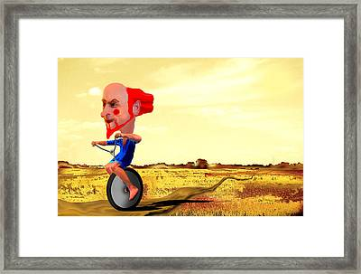 On The Forty-first Day Framed Print by AW Sprague II