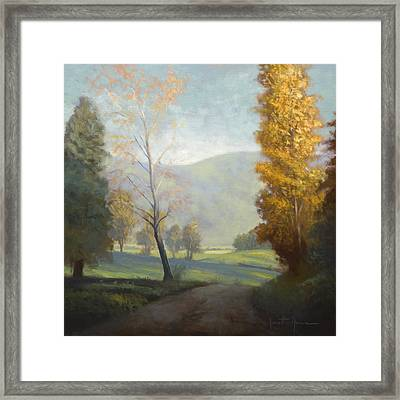 On The Road Framed Print by Jonathan Howe