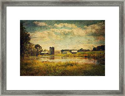 On The Trail Framed Print by Kathy Jennings