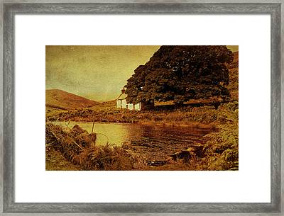 Once Upon A Time. Somewhere In Wicklow Mountains. Ireland Framed Print by Jenny Rainbow