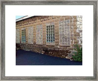 Once Were Windows Framed Print by MJ Olsen