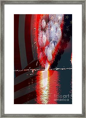 One Big Bang Framed Print by Cheryl Young