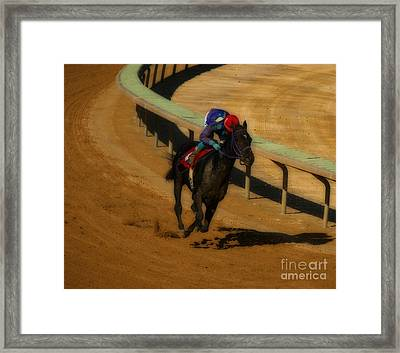 One Is The Loneliest Number Framed Print by Steven  Digman