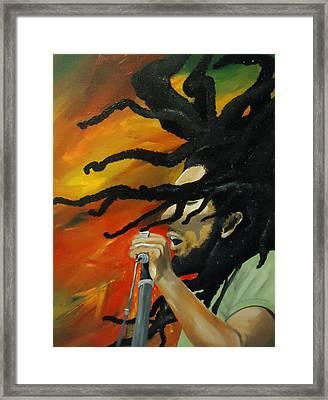 One Love Framed Print by Diana Prickett